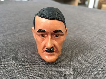 "1/6 Scale 12"" WWII German Adolf Hitler Headsculpt #653267527"